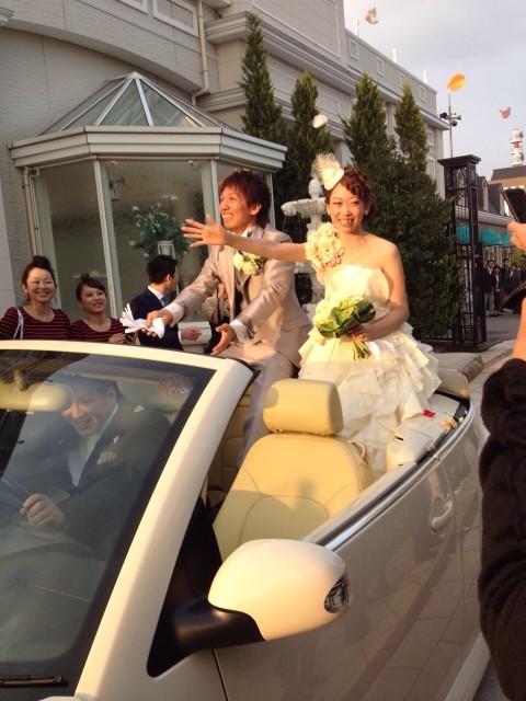 砂川舞さん挙式2
