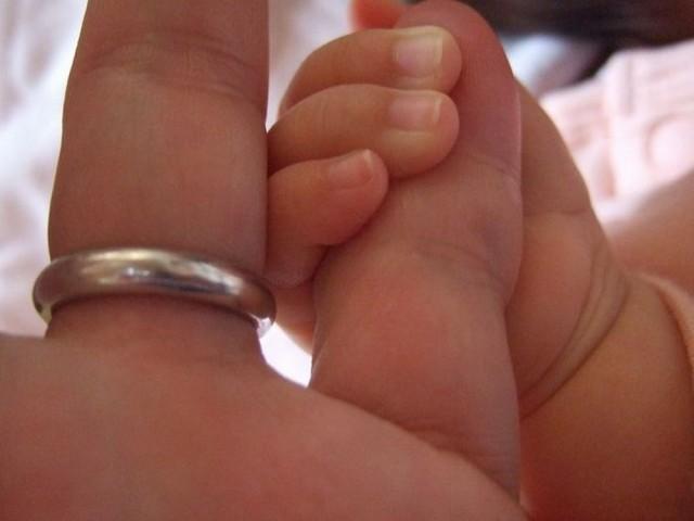 結婚指輪&子供の指