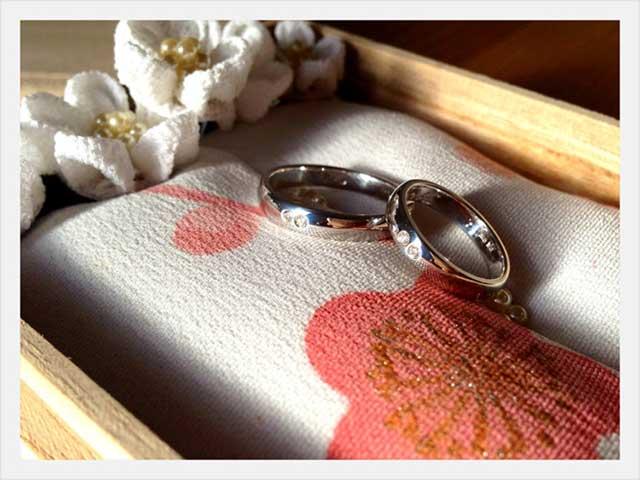 結婚指輪1周年