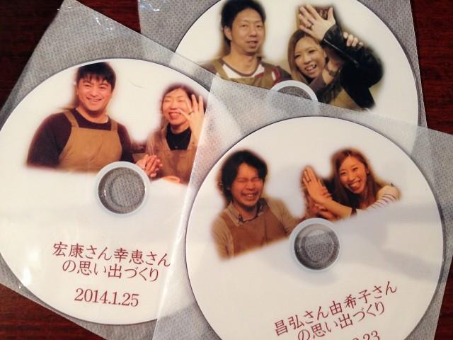 制作動画DVD
