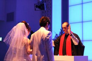 結婚式の近い