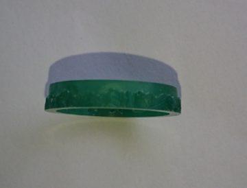 立山連峰の指輪原型