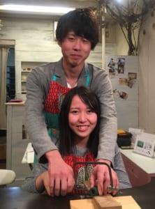 2人で結婚指輪作り